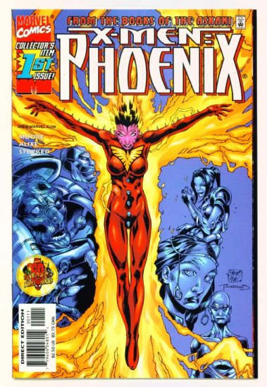 X-MEN PHOENIX #1 Marvel Comics 1999 NM