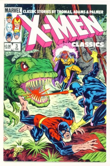 X-MEN CLASSICS #3 Marvel Comics 1984 Neal Adams