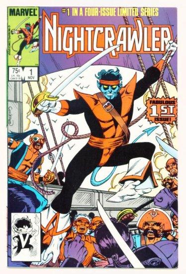 NIGHTCRAWLER #1 NM Marvel Comics 1985 X-Men