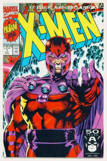 X-MEN #1 Marvel Comics 1991 NM Cover #1D