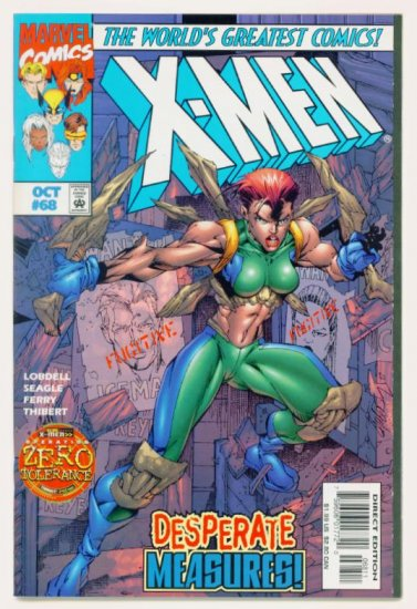 X-MEN #68 Marvel Comics 1997 NM