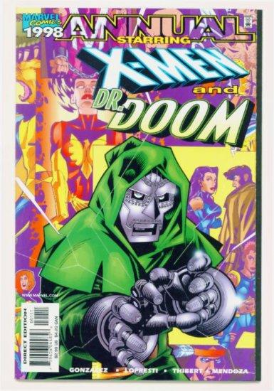 X-MEN ANNUAL '98 Marvel Comics 1998 NM Doctor Doom