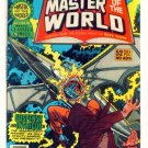 MASTER of the WORLD Marvel Classics Comics #21 1977  Jules Verne