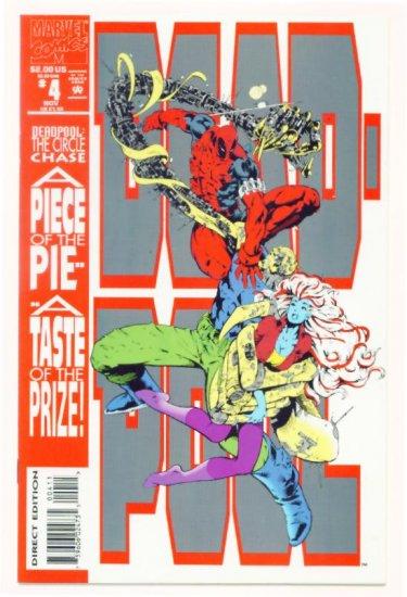 DEADPOOL The CIRCLE CHASE #4 Marvel Comics 1993 NM