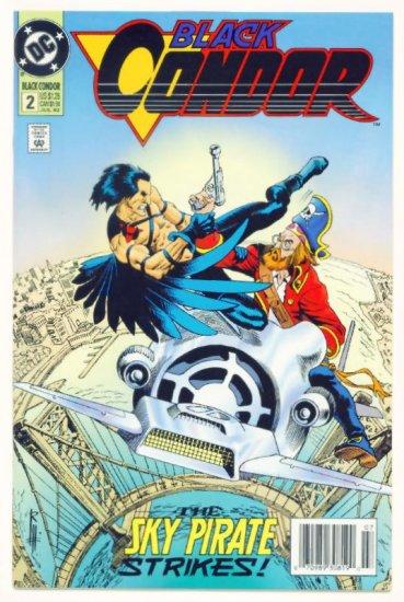 BLACK CONDOR #2 DC Comics 1992 NM Russ Heath Cover