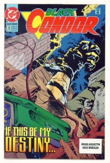 BLACK CONDOR #6 DC Comics 1992 NM Russ Heath Cover