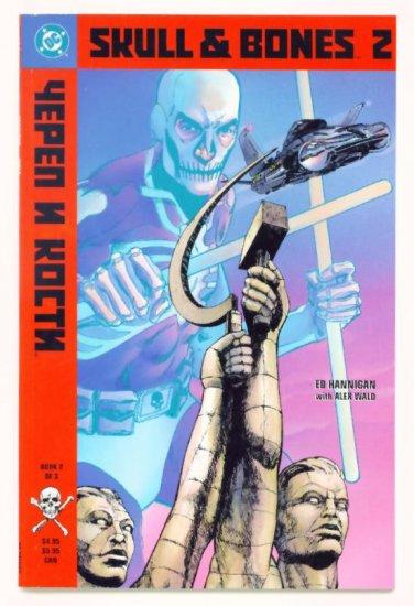 SKULL and BONES #2 DC Comics 1992 GIANT
