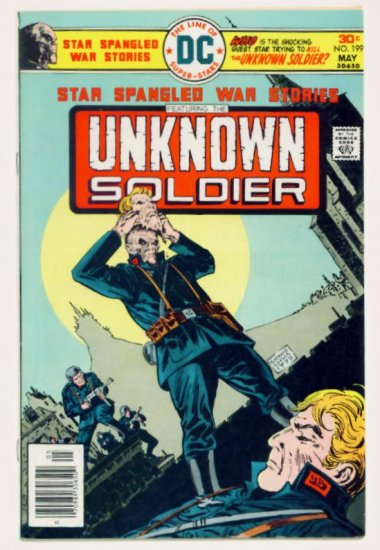 STAR SPANGLED WAR #199 DC Comics 1976 The Unknown Soldier