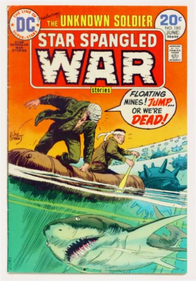 STAR SPANGLED WAR #180 DC Comics 1974 The Unknown Soldier