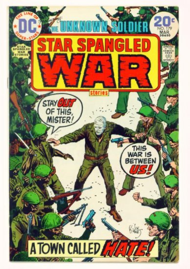 STAR SPANGLED WAR #179 DC Comics 1974 The Unknown Soldier