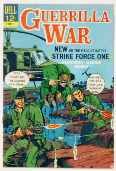 GUERRILLA WAR #13 Dell Comics 1965