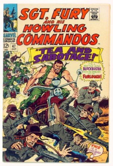 SGT. FURY and His HOWLING COMMANDOS #47 Marvel Comics 1967