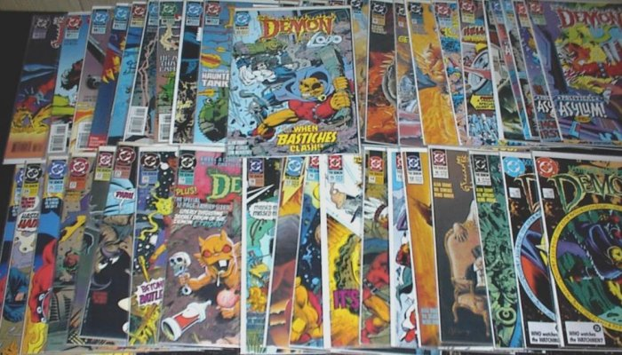 The DEMON Lot of 45 DC Comics Alan Grant