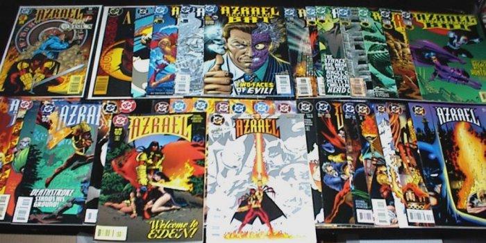 AZRAEL lot of 35 DC Comics #1 - #98 1995 - 2003 Batman