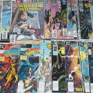 WONDER WOMAN Lot of 34 DC Comics #1 - #225 Second Series