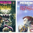 PREDATOR VS MAGNUS ROBOT FIGHTER #1 and #2 Valiant Comics FULL RUN
