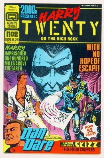 2000 AD PRESENTS #8 Quality Comics 1986 Alan Moore