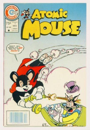 ATOMIC MOUSE #1 Charlton Comics 1984 VF Low Print Run