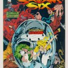 SATANS SIX #4 Topps Comics 1993 Jason Appearance ( Friday 13th )