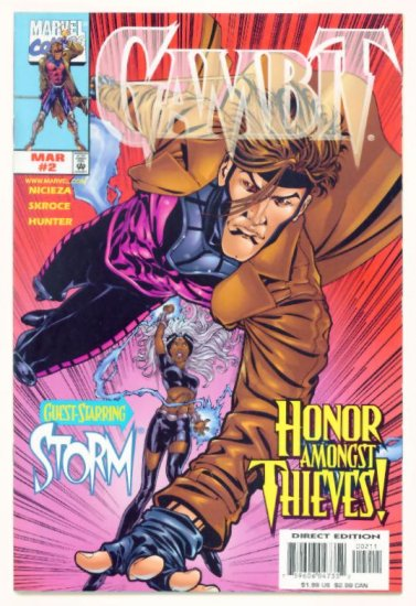 GAMBIT #2 Marvel Comics 1999 NM X-Men