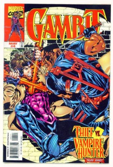 GAMBIT #4 Marvel Comics 1999 NM X-Men BLADE VAMPIRE HUNTER