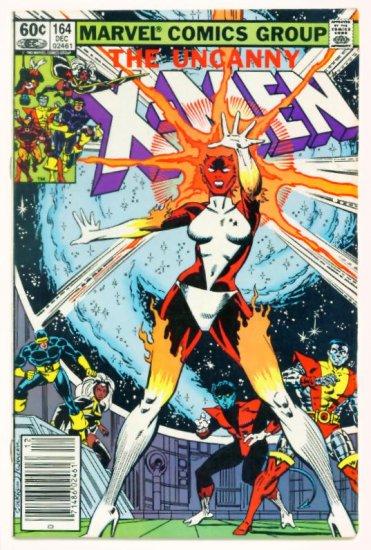 UNCANNY X-MEN #164 Marvel Comics 1982 First Binary