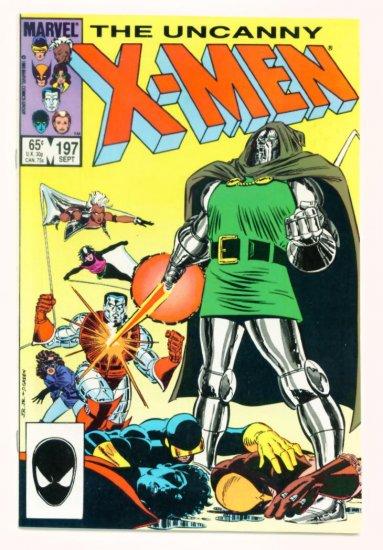 UNCANNY X-MEN #197 Marvel Comics 1985 Doctor Doom