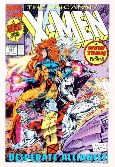 UNCANNY X-MEN #281 Marvel Comics 1991 NM