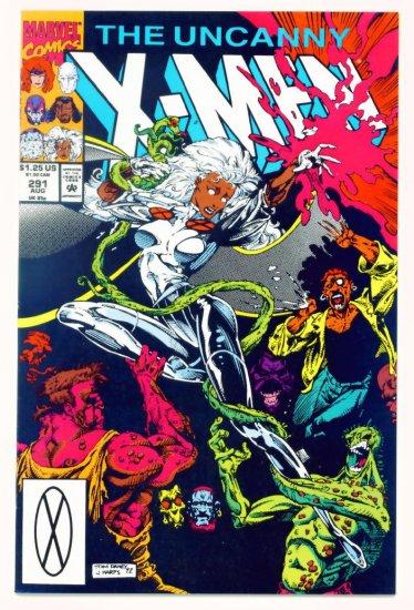 UNCANNY X-MEN #291 Marvel Comics 1992 NM