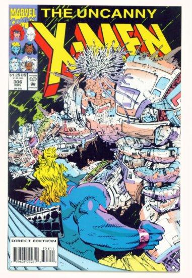 UNCANNY X-MEN #306 Marvel Comics 1993 NM
