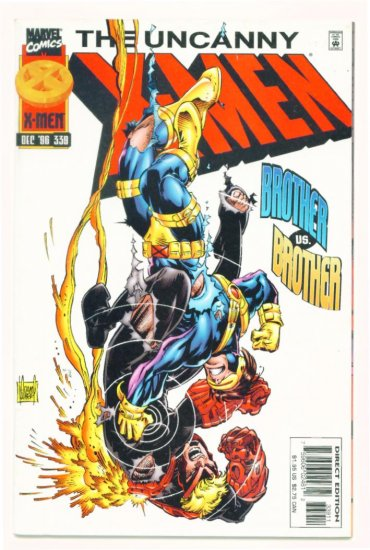 UNCANNY X-MEN #339 Marvel Comics 1996 NM