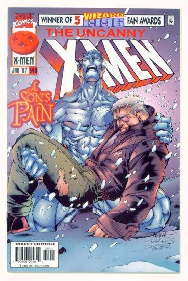 UNCANNY X-MEN #340 Marvel Comics 1997 NM