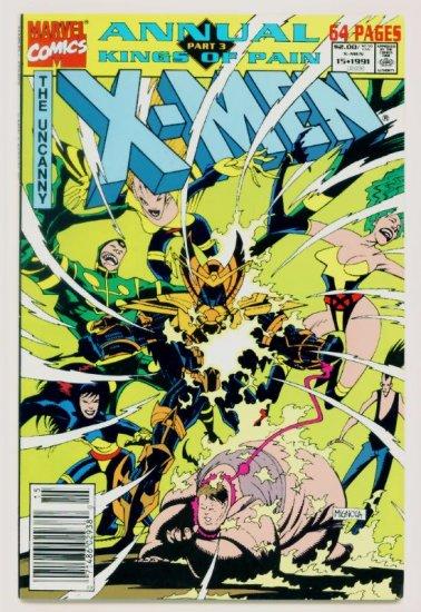 UNCANNY X-MEN ANNUAL #15 Marvel Comics 1991 NM