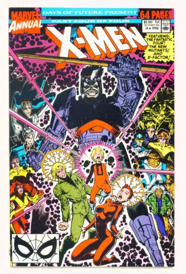 UNCANNY X-MEN ANNUAL #14 Marvel Comics 1990 NM First Appearance of GAMBIT