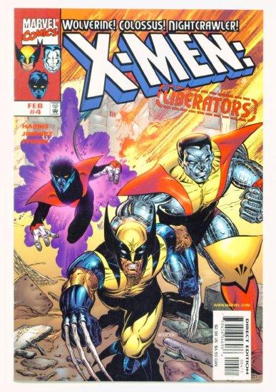 X-MEN LIBERATORS #4 Marvel Comics 1999 NM