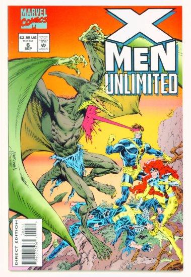 X-MEN UNLIMITED #6 Marvel Comics 1993 NM