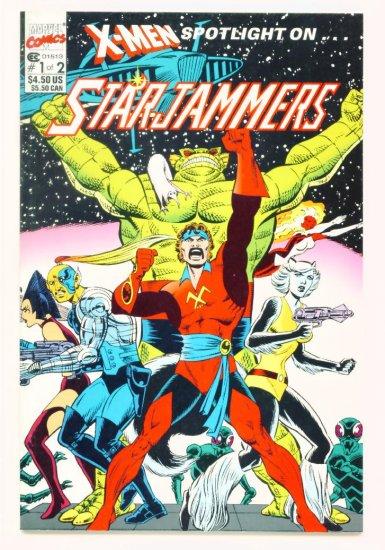 X-MEN SPOTLIGHT ON STARJAMMERS #1 Marvel Comics 1990 NM