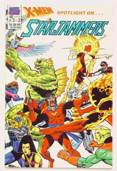X-MEN SPOTLIGHT ON STARJAMMERS #2 Marvel Comics 1990 NM