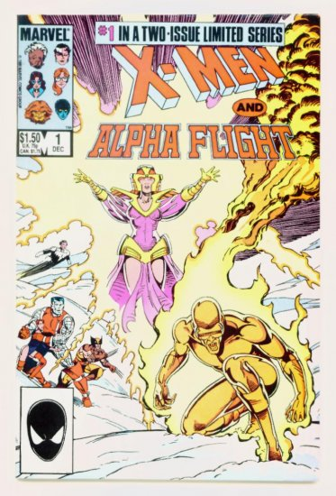 X-MEN and ALPHA FLIGHT #1 Marvel Comics 1985 NM