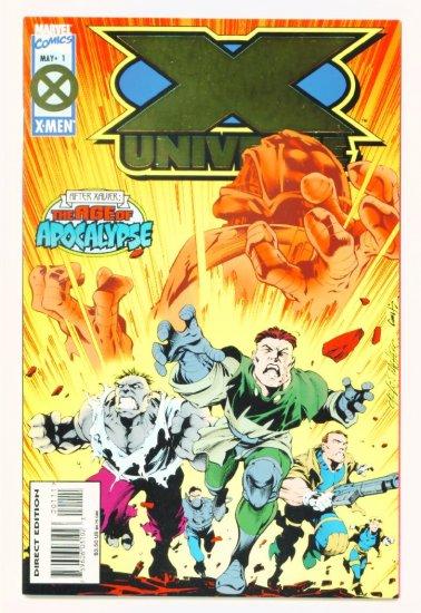 X-MEN X-UNIVERSE #1 Marvel Comics 1995 NM Age of Apocalypse
