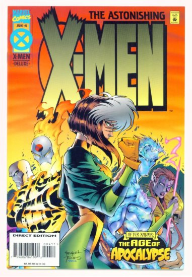 ASTONISHING X-MEN #4 Marvel Comics 1995 NM