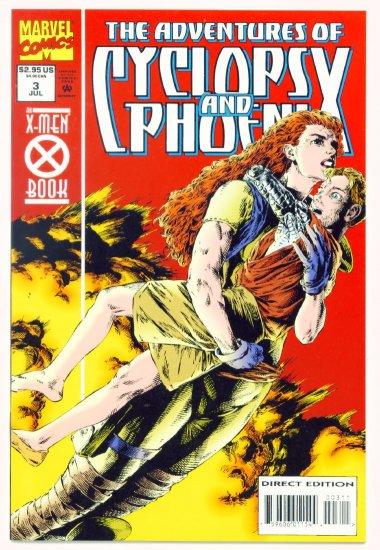 The ADVENTURES of CYCLOPS and PHOENIX #3 Marvel Comics 1994 NM X-MEN