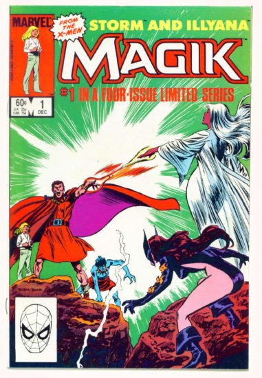 MAGIK #1 Marvel Comics 1983 NM X-Men
