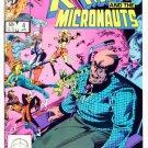 X-MEN and the MICRONAUTS #4 Marvel Comics 1984 NM X-Men
