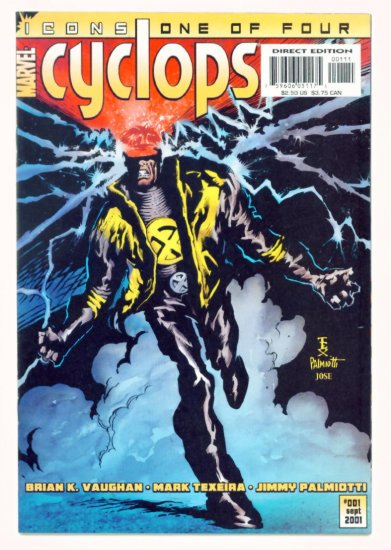 CYCLOPS ICONS #1 Marvel Comics 2001 NM X-Men