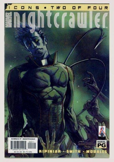 NIGHTCRAWLER ICONS #2 Marvel Comics 2002 NM X-Men