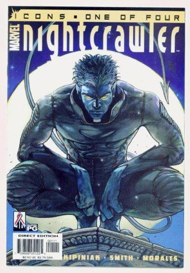 NIGHTCRAWLER ICONS #1 Marvel Comics 2002 NM X-Men