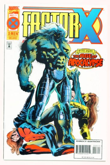FACTOR X #3 Marvel Comics 1995 X-Men