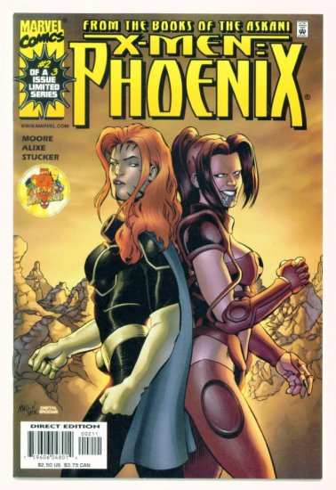 X-MEN PHOENIX #2 Marvel Comics 1999 NM