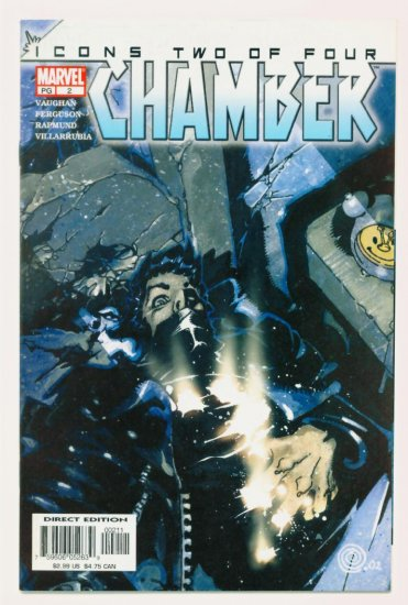 CHAMBER ICONS #2 Marvel Comics 2002 NM X-Men
